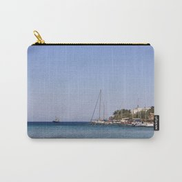 Boats at Datca Carry-All Pouch
