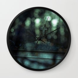 When Two Worlds Collide Wall Clock