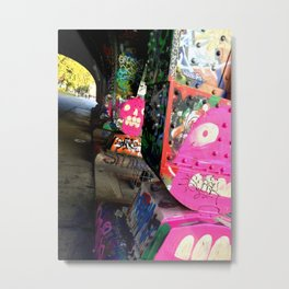 Urban Gargoyles Metal Print