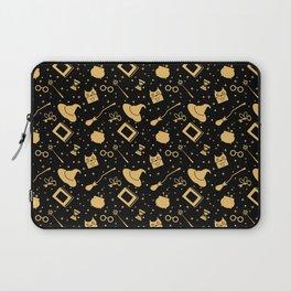 Magic symbols (black) Laptop Sleeve