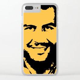 Pablo Escobar Clear iPhone Case