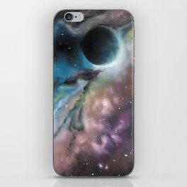 Black hole iPhone Skin