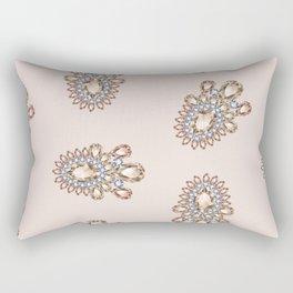 Jewelbox: Morganite Brooch in Light Blush Rectangular Pillow