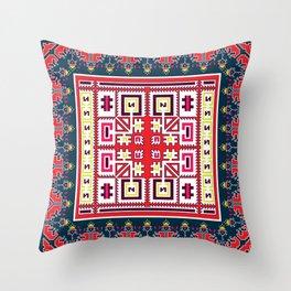 Ethnic vector  Throw Pillow