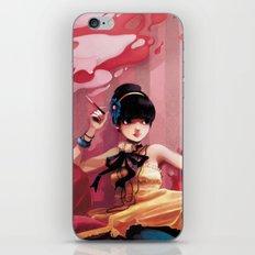 Le salon rose iPhone & iPod Skin