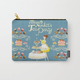 Miss Norbitt's Tea Party Carry-All Pouch