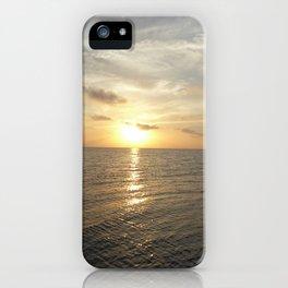 Sunset on Long Key 4 iPhone Case