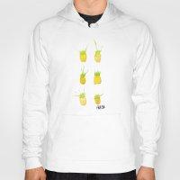 pineapples Hoodies featuring Pineapples by Kristan Kremer