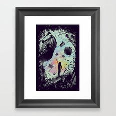 Gravity Play Framed Art Print