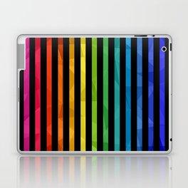 BLACK + RAINBOW Laptop & iPad Skin