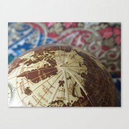 Cartographic Imperfections Canvas Print