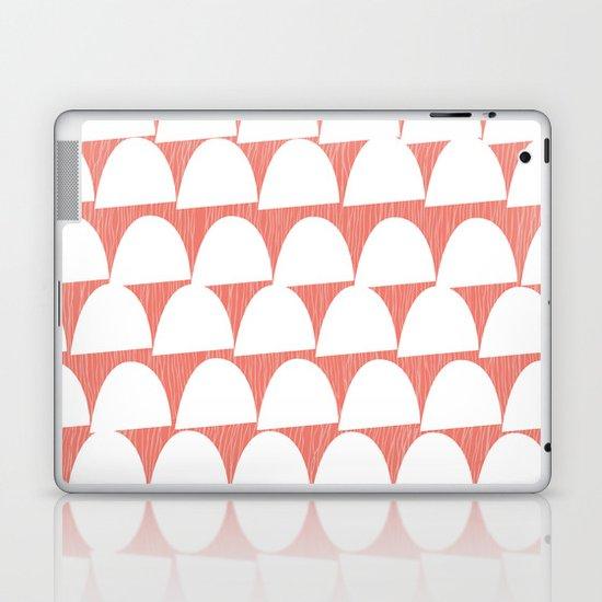 Shroom reverse coral Laptop & iPad Skin