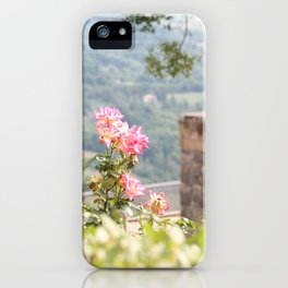 Italian Countryside iPhone Case