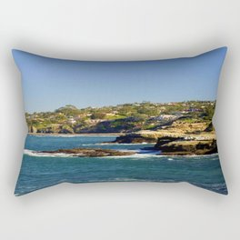 Lazy Day in La Jolla Rectangular Pillow