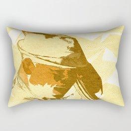 Jazz Contrabassist Poster Rectangular Pillow