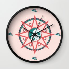 chèvre Wall Clock