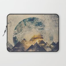 One mountain at a time Laptop Sleeve