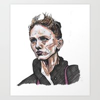 depeche mode Art Prints featuring Mode by Meredith Mackworth-Praed