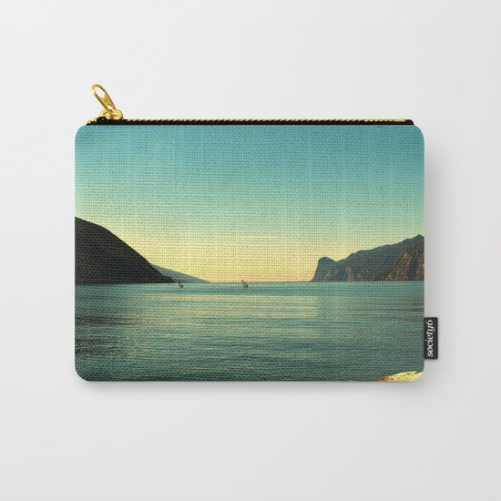 windsurfers in Italy Carry-All Pouch