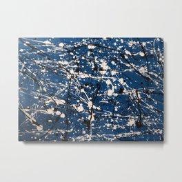 Blue Carnage Metal Print
