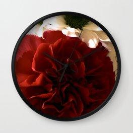 Floral Fantasy Wall Clock