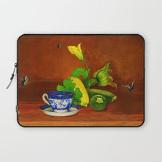 Teacup with Squash Laptop Sleeve