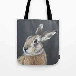 The Hares Stare Tote Bag
