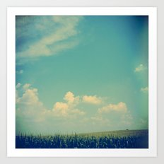 Somewhere Off in the Distance Art Print