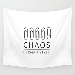 Chaos: German Style Wall Tapestry