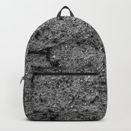 Sand in Black and White Backpack