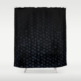 Cammo Dark Shower Curtain