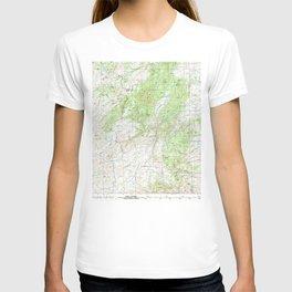 WY Laramie Peak 342348 1981 topographic map T-shirt