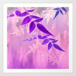 Jasmine Sunrise, Lavender Art Print