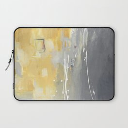 50 Shades of Grey and Yellow Laptop Sleeve