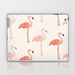 Double Flamingo Laptop & iPad Skin