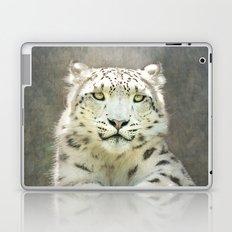 Snow Leopard Laptop & iPad Skin