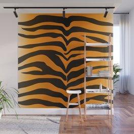 Tiger Skin Pattern Wall Mural