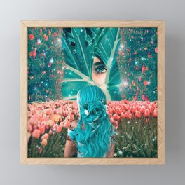 Tulip Dreams Framed Mini Art Print