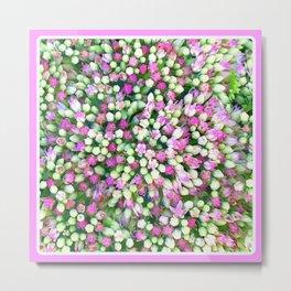 Spring Carpet of Flowers Metal Print