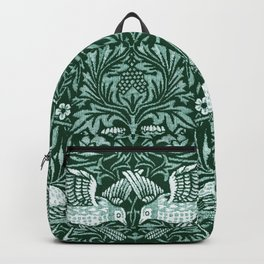 "William Morris ""Birds"" 6. Backpack"