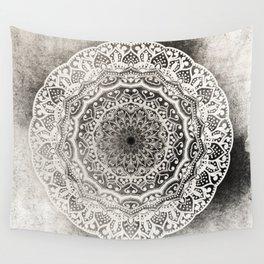 DESERT FLOWER MANDALA Wall Tapestry