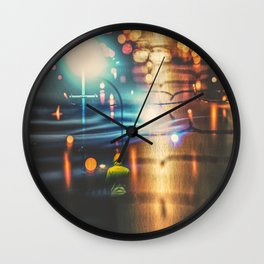 Dreaming Back On Xmas Wall Clock