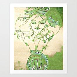 Jehnene Corbeux Art Print