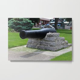 Put-in-Bay Cannon I Metal Print