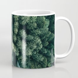 Forest from above - Landscape Photography Coffee Mug