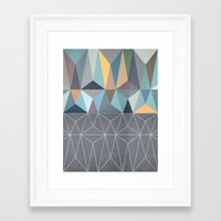 nordic Framed Art Prints featuring Nordic Combination 31 by Mareike Böhmer