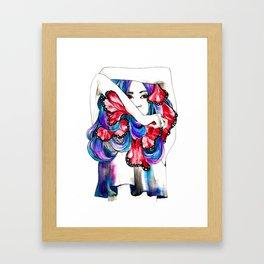 i wory Framed Art Print