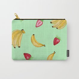 BANANAS & STRAWBERRIES Carry-All Pouch