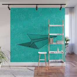 Paper Airplane 112 Wall Mural