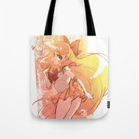 sailor venus Tote Bags featuring Sailor Venus by Peach Mork